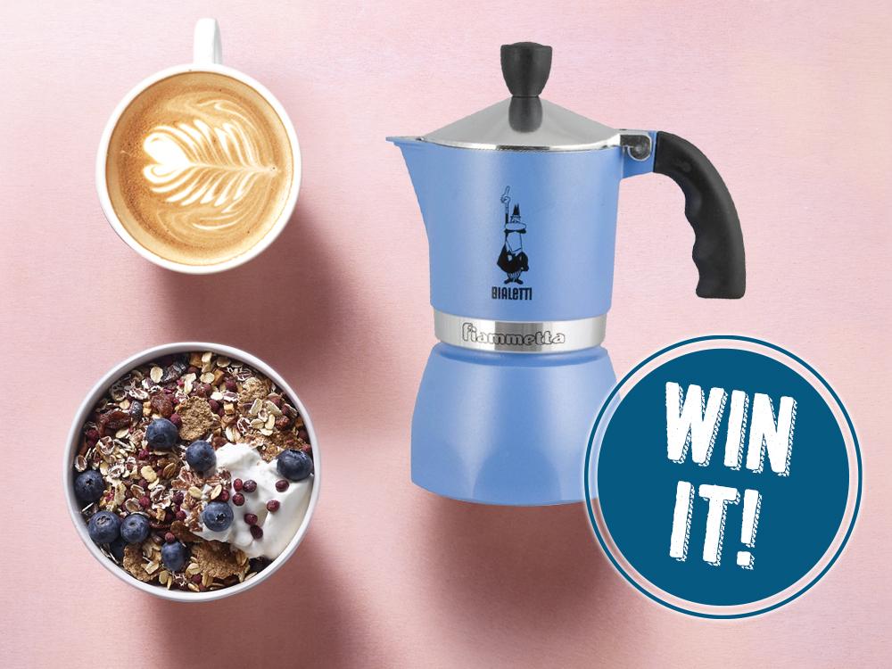 Win your espresso maker with Verival!