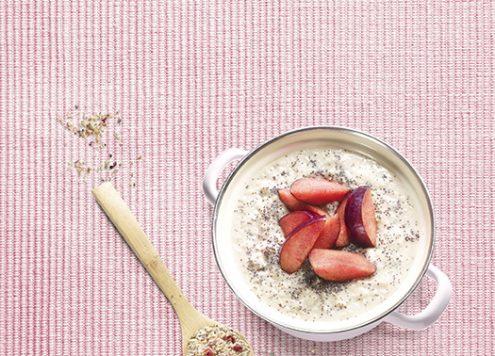 länger satt mit porridge