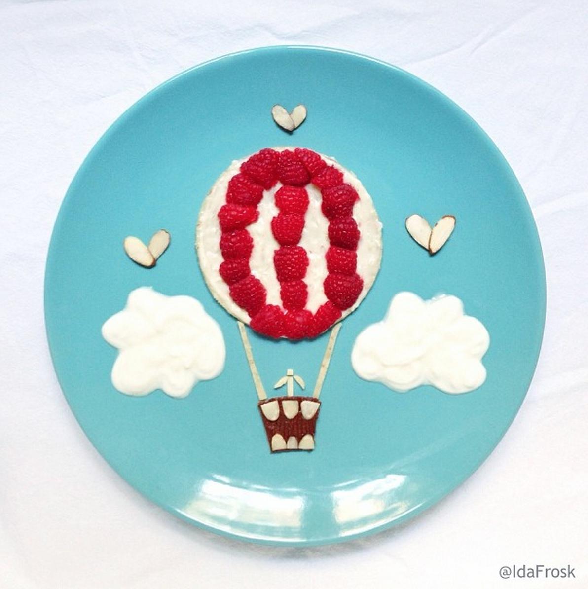 Ballon-Crêpe © Ida Frosk
