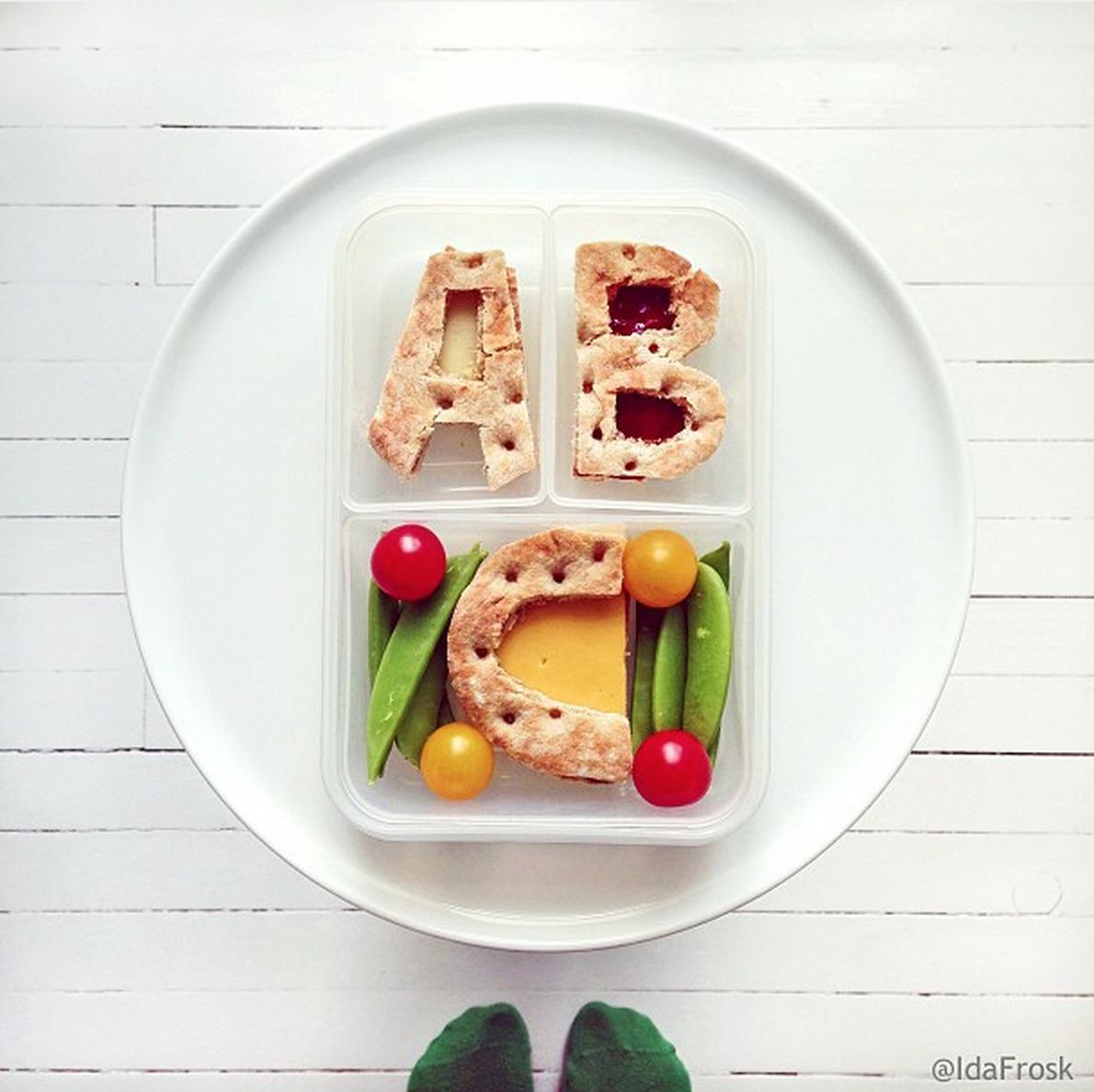 Buchstaben-Knäcke © Ida-Frosk