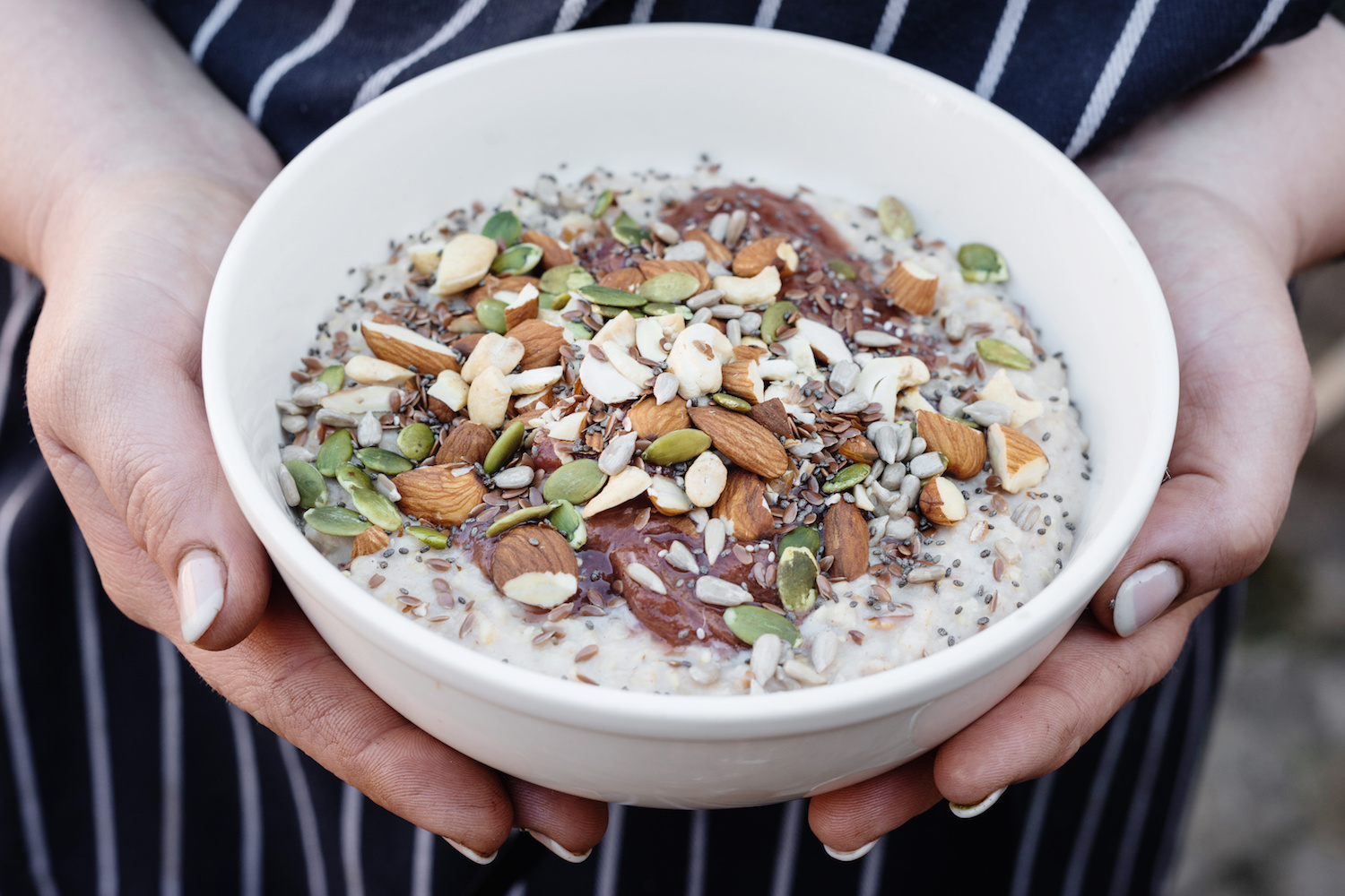 In 2016 it's all about the toppings: seeds, nuts and everything that's tasty and nutritious