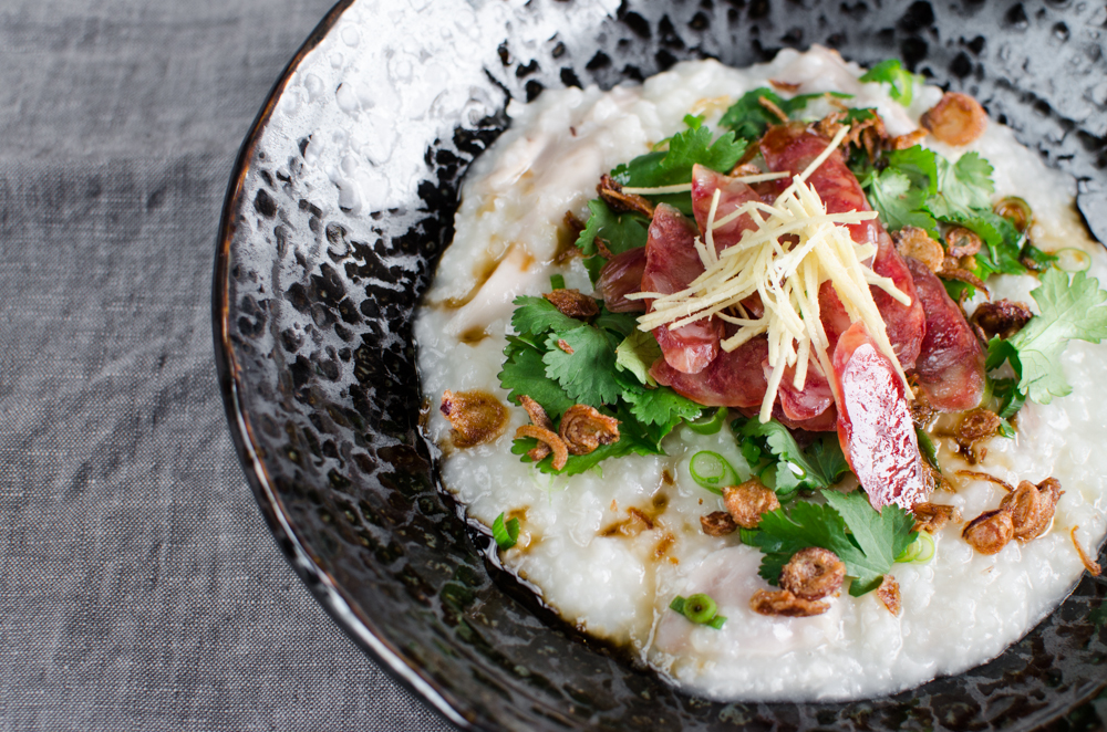 "Asian ""Congee"" Riceporridge © Merci-Mama.com"