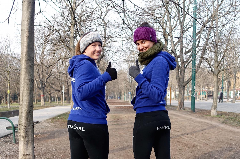 Motiviert im Laufschritt Richtung Frühling mit Kathi & Lena