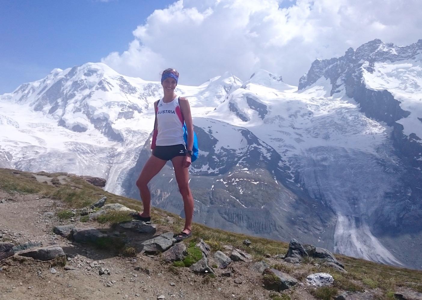 Entspannen nach der Langdistanzweltmesiterschaft Zermattmarathon © privat