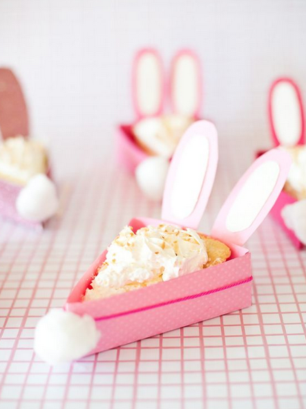 Bunnylicious! DIY Bunny Cake Holder by © A subtle revelry via Pinterest