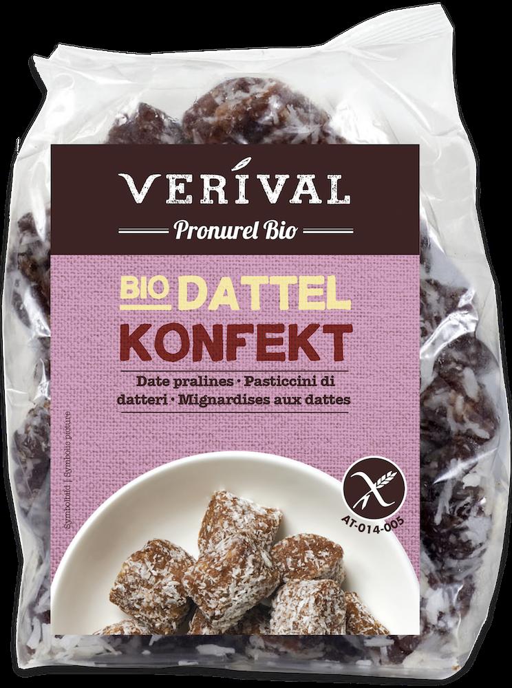 Versüßt dir den Sommer: das Verival Bio Dattelkonfekt
