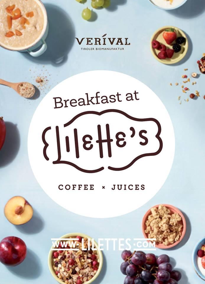 Verival-Frühstück den ganzen Tag – bei Lilette's
