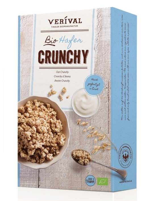 Boost your morning mood with Verival Organic Oat Crunchy