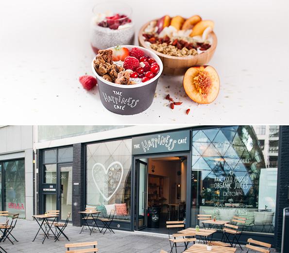 Im Happiness Cafe kommt ganz natürlich gute Laune auf © Simone, foodquotes.nl