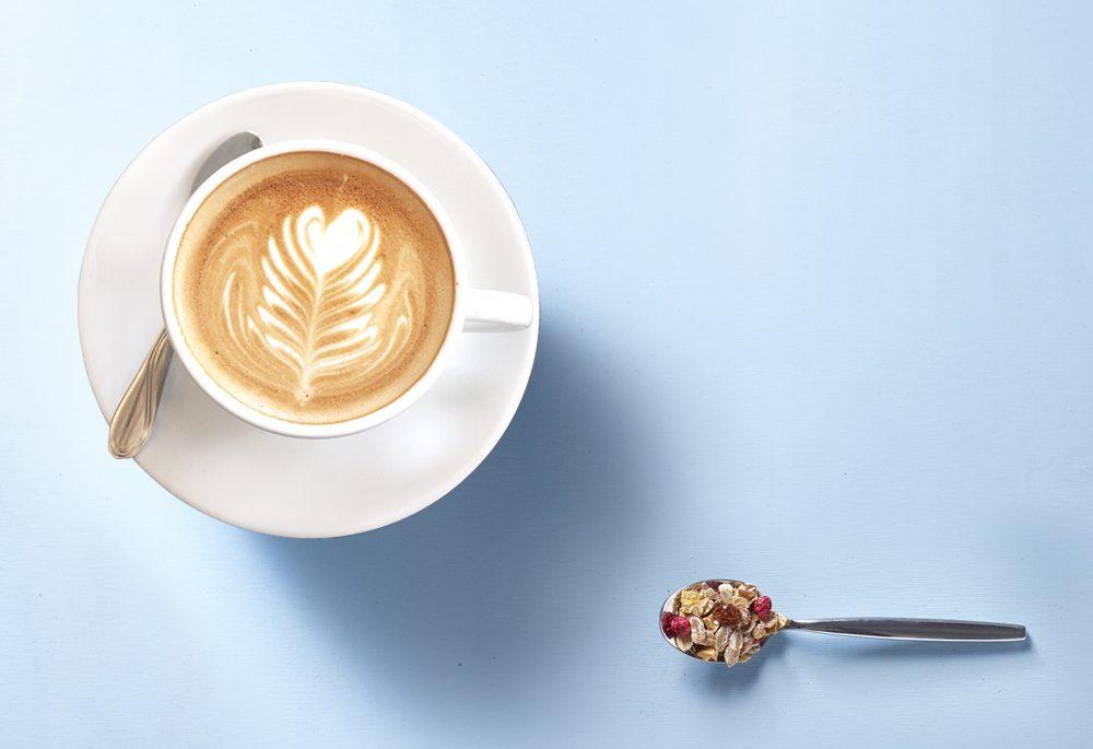 Der Perfekte Guten Morgen Kaffee