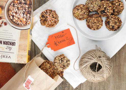 Rezepte vegane Müsli-Kekse