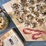 Müslikekse Tannenbaumkekse Weihnachtskekse