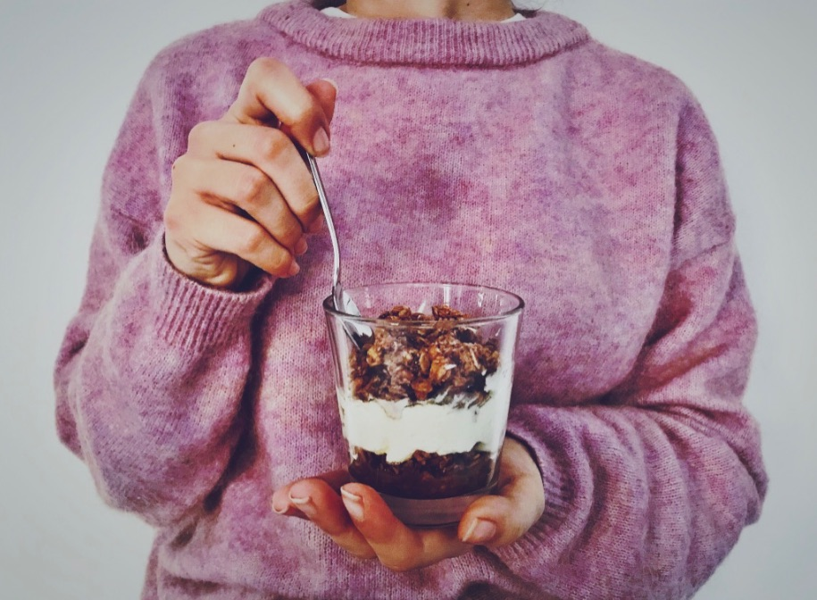 Schoko Crunchy Trifle
