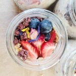 Overnight Oats Apfel Zimt