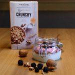 Crunchy Joghurt- Brombeer Bowl