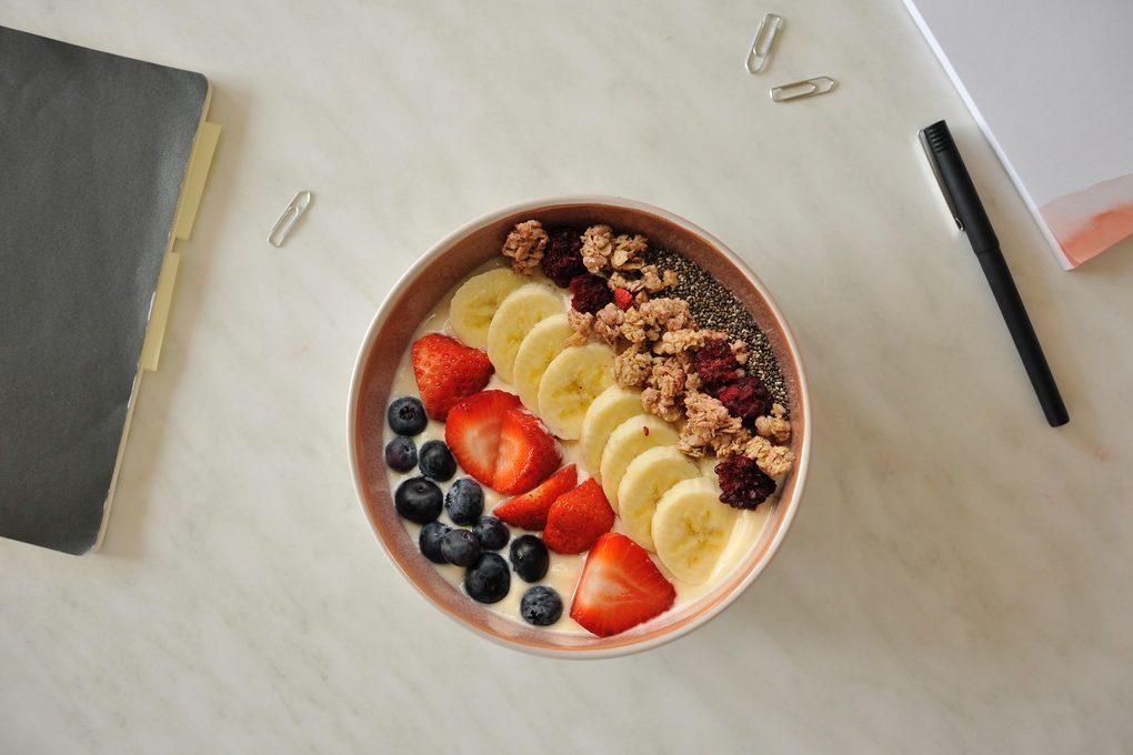 Frühstück im Büro Verival