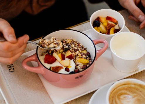 Frühstück ohne zugesetzten Zucker