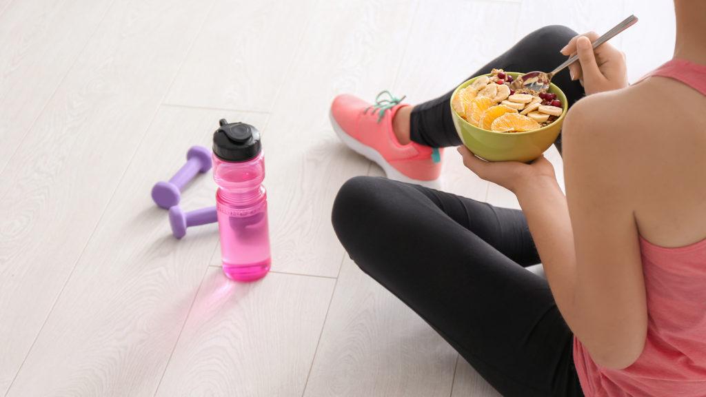 Ohne Frühstück geht beim Sport schnell die Energie aus