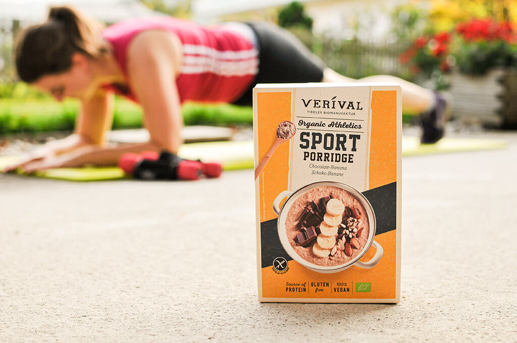 Porridge sportivo da gustare