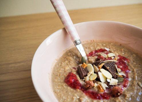 Unsere Porridges sind in nur 3 Minuten fertig!