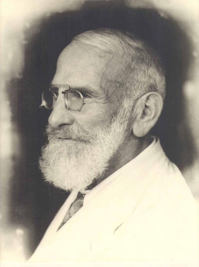 Maximilian Oskar Bircher-Benner - Autor Unbekannt - Bircher-Benner Archiv, Universität Zürich