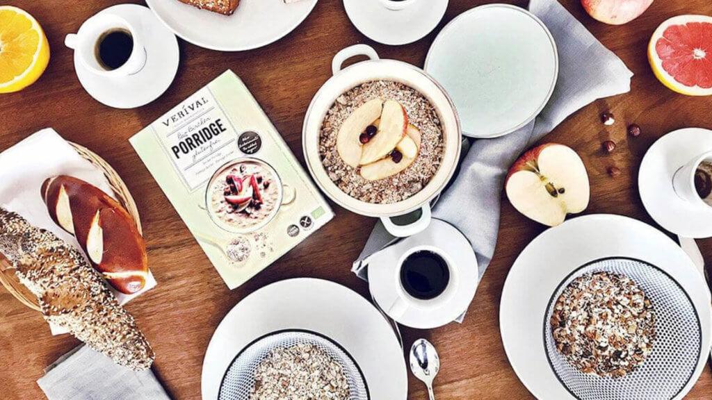 Bircher Müsli & Bircher Porridge di Verival