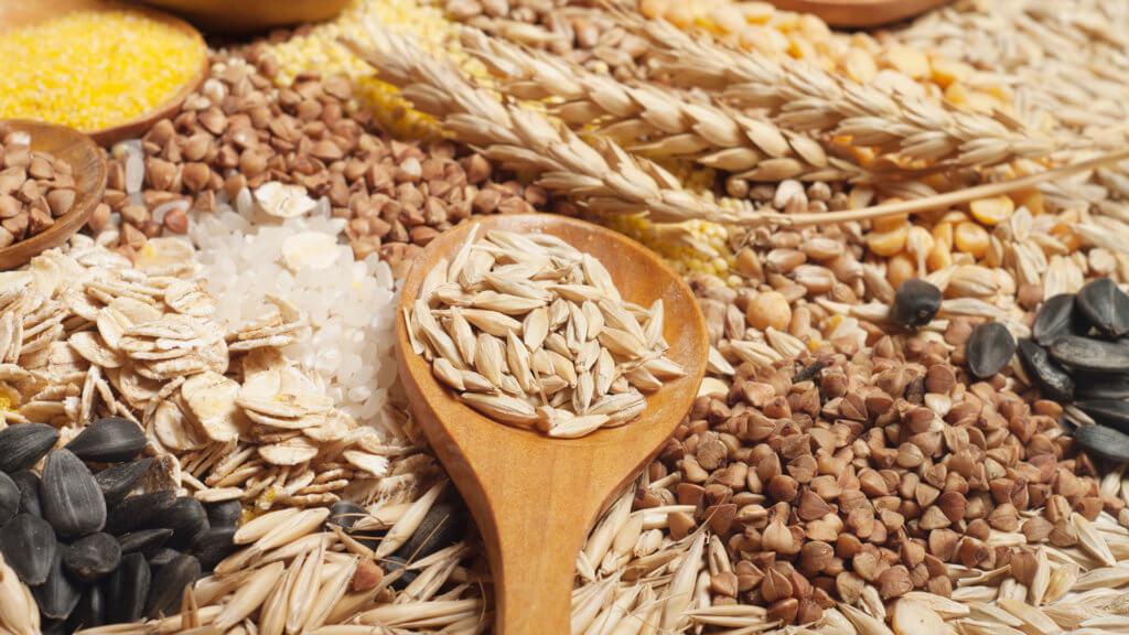 mlung von Getreiden