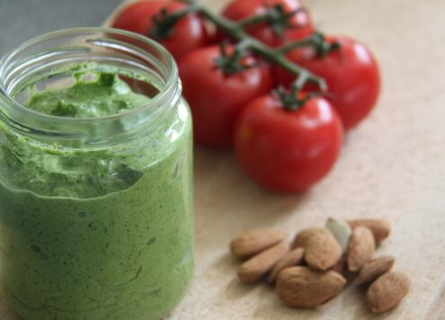 Grünes Pesto mit Mandeln Verival