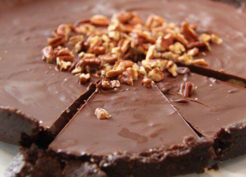 Vegane No Bake Nusstorte Rezept