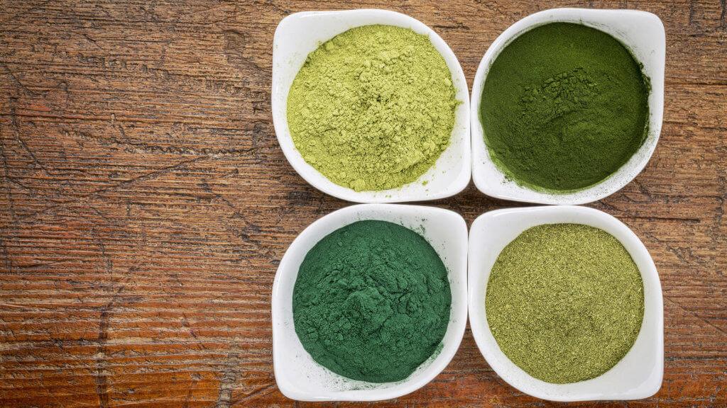 Alge Chlorella weist einen hohen Vitamin-B12-Gehalt auf