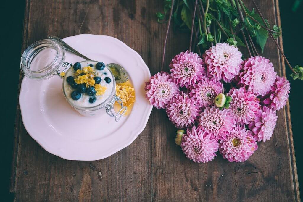 Joghurt mit Zucker