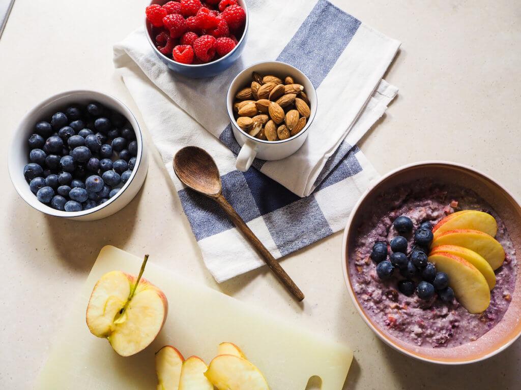 Mandeln protein porridge