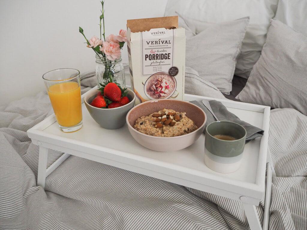 Gesund frühstücken mit einer Glutenunverträglichkeit