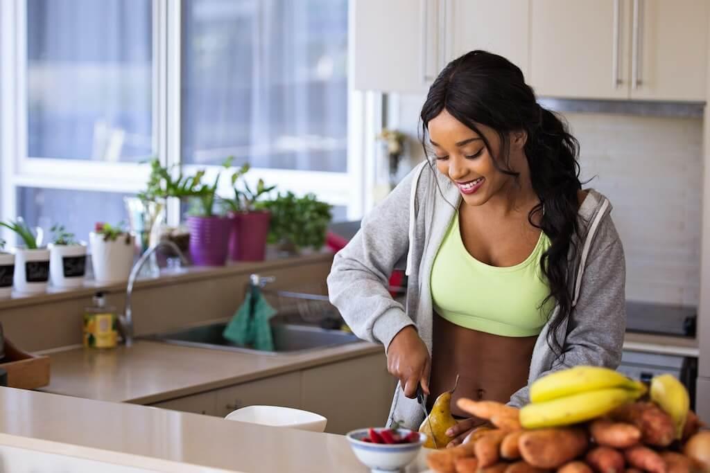 Lebensmittel richtig aufnehmen