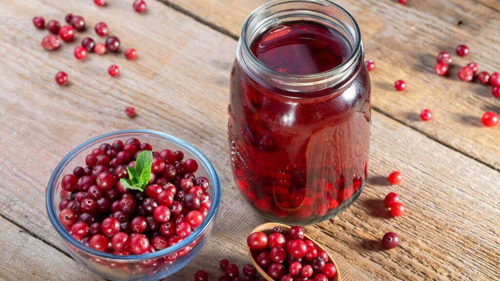 Gesunde Cranberrys