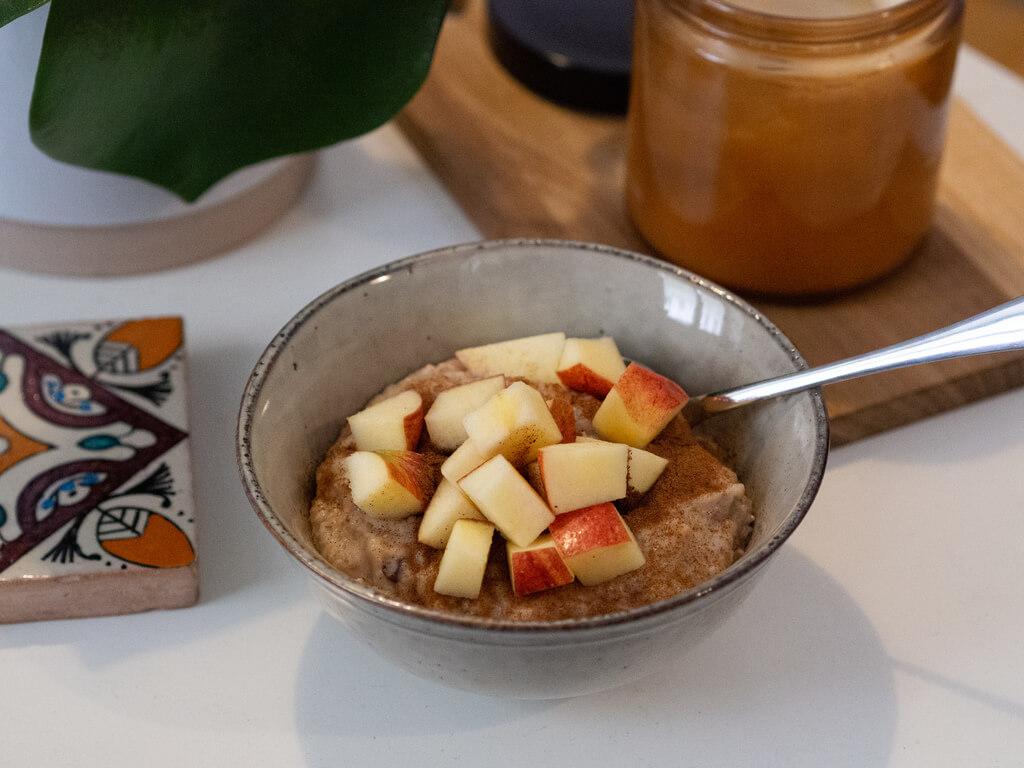 Porridge Gewürze Zimt Immunsystem stärken