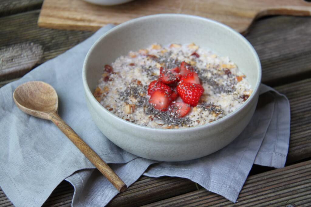 Il porridge è un alimento che permette davvero di saziarsi.