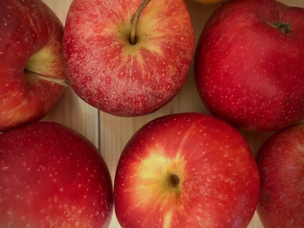 Äpfel als regionale Obstsorte sind fast das ganze Jahr über erhältlich.