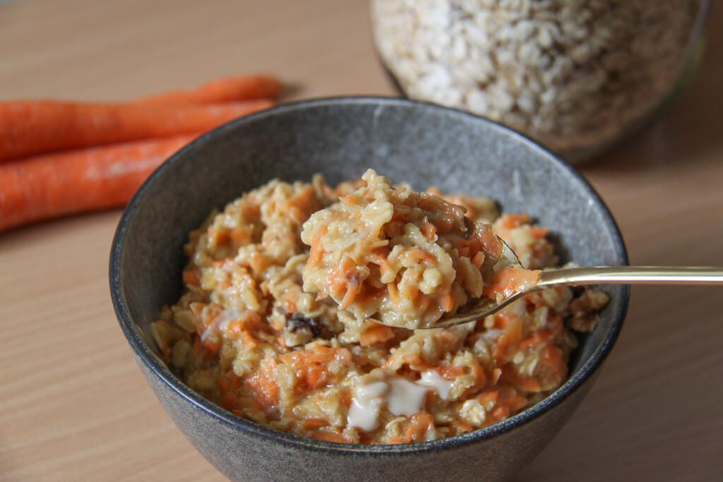 Carrot Cake Porridge Rezept