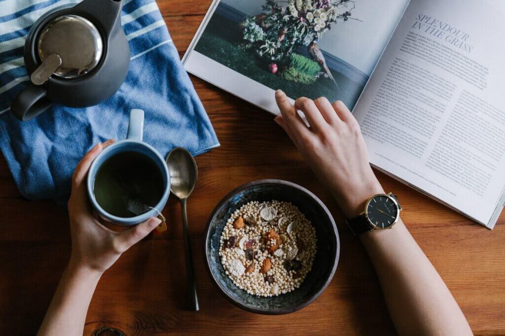 Porridge colazione sana ipocalorica