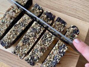 Rezept Schokofudge mit Müslistreuseln Zubereitung