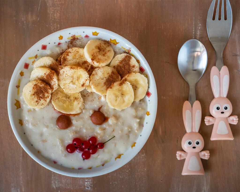 Kinderbesteck lädt zum Frühstücken ein