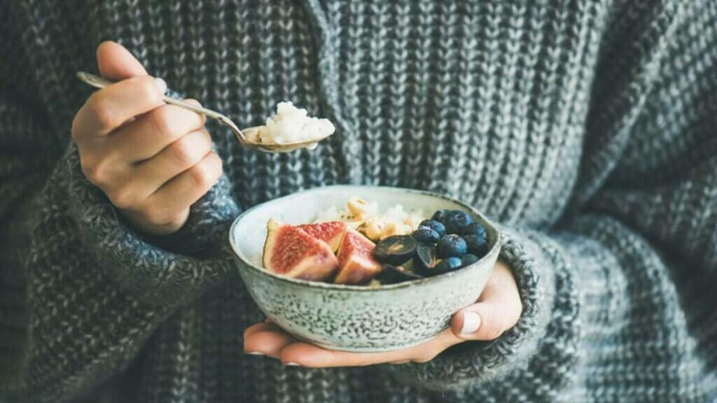 Warmer Porridge sorgt für gute Energie