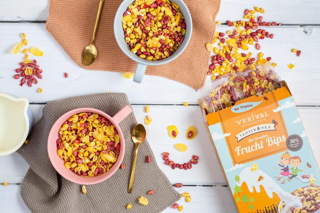 Produits VERIVAL pour un petit-déjeuner sain et pour les enfants