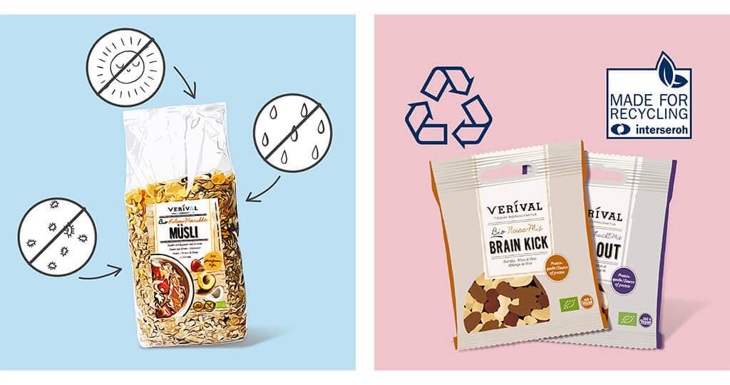 Nachhaltige Verpackungsmaterialien