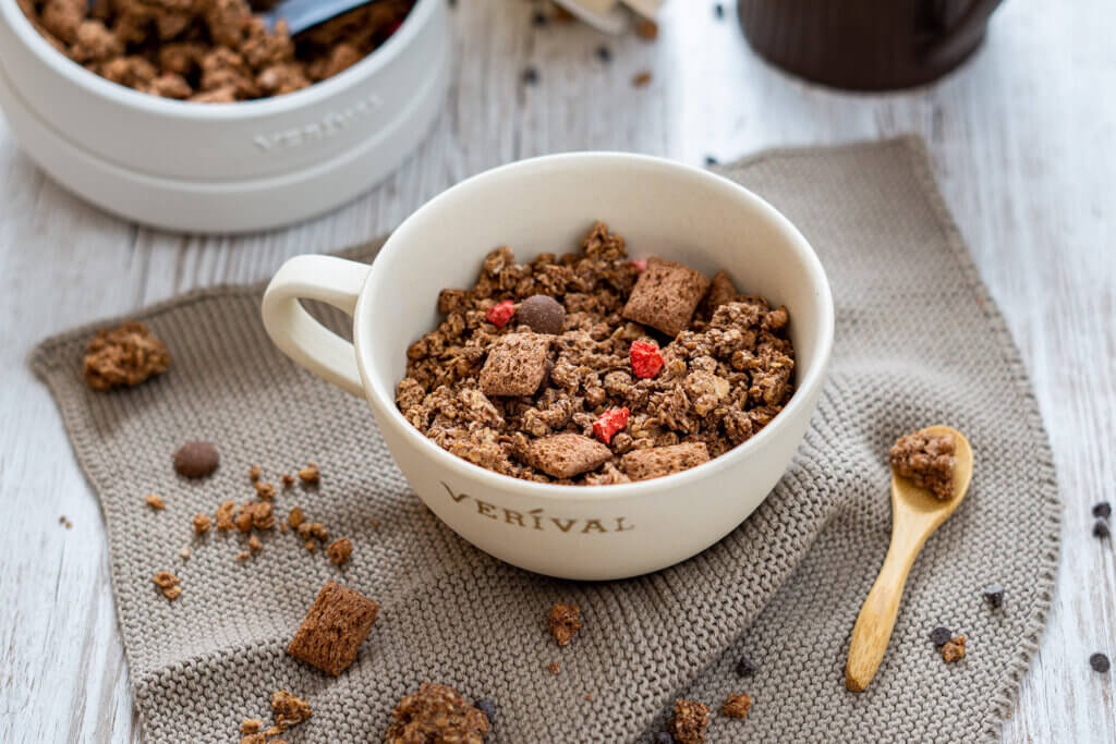 Zuckerreduziertes Frühstück für Kinder von VERIVAL