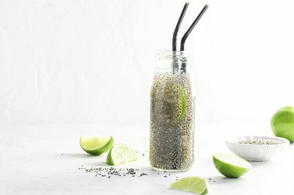 Chia fresca o Chia Iskiate - la bevanda ideale per i corridori