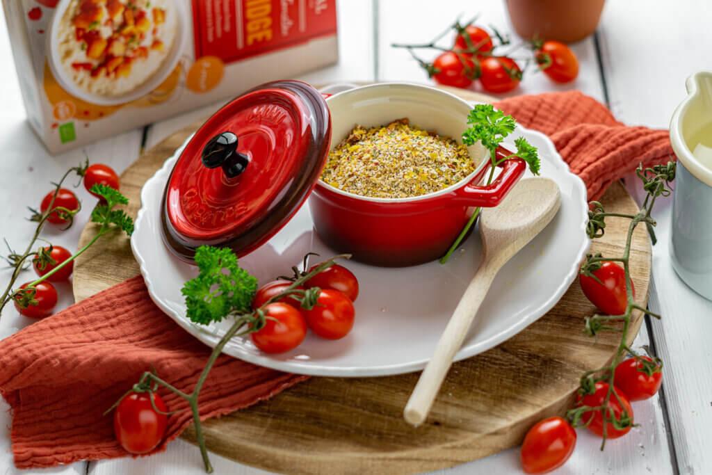 Porridge di zucca al pomodoro piccante VERIVAL