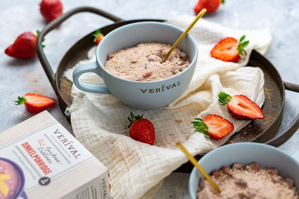 Porridge ohne Zucker ist gesund und schmeckt trotzdem lecker