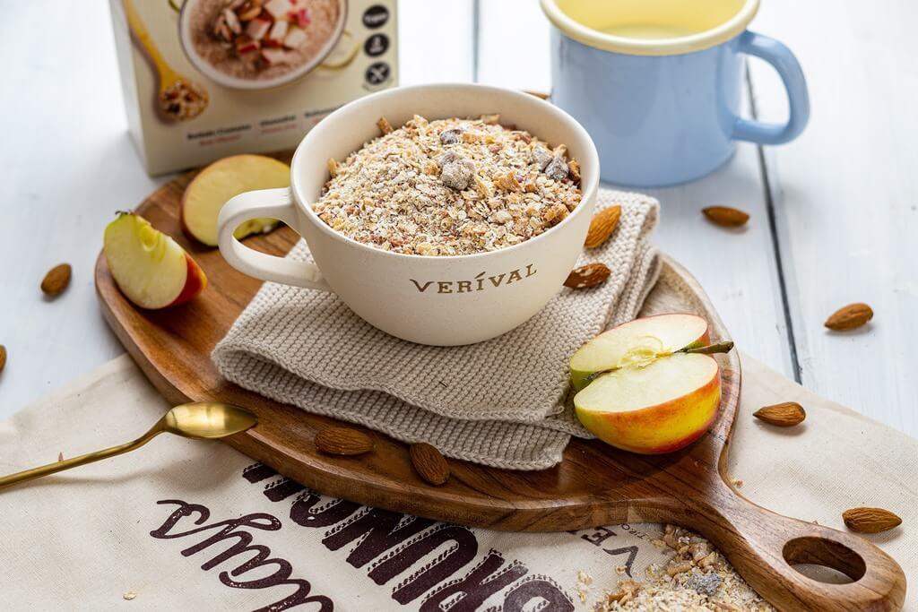 Der Bircher Porridge als Frühstück liefert genug Magnesium.